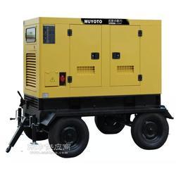 60千瓦静音柴油发电机组-户外施工用发电机图片