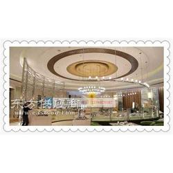 星级酒店自助餐厅装饰隔断不锈钢精美包围屏风图片