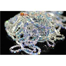 镶钻链、钻链、蘑菇头饰品配件(图)图片