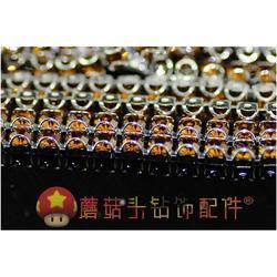 爪钻链、蘑菇头饰品配件(优质商家)、diy婚纱钻链图片