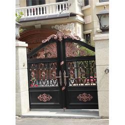 什么样的好兆鸿门业(图)|仿铜门别墅大门|江苏仿铜门图片