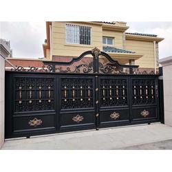 铜铝门多少钱一平方、铜铝门、哪家好兆鸿别墅门图片