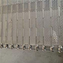 优选悦达网链,张家口不锈钢链板,清洗机烘干不锈钢链板图片