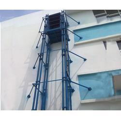导轨式升降机厂家、河南导轨式升降机、霸力厂家直销(图)图片