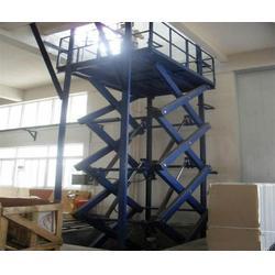 广东液压升降机、霸力品牌保证(在线咨询)、手推液压升降机图片