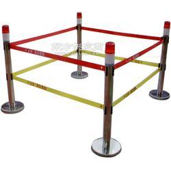 绝缘伸缩围栏 双带式伸缩围栏 围栏图片