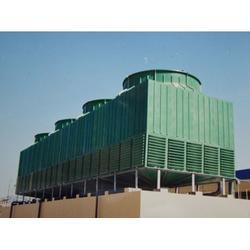 浩远环保设备(图) 逆流式玻璃钢冷却塔 玻璃钢冷却塔图片