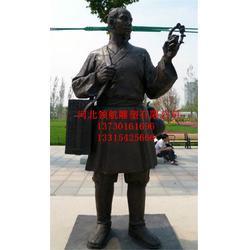 山东古代名医雕塑_领航铜雕_2米古代名医雕塑图片
