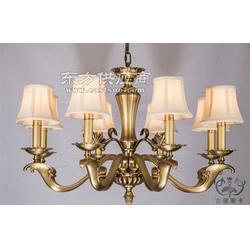 灯盘中式全铜吊灯定做,中式全铜吊灯,古丽斯卡 多图图片