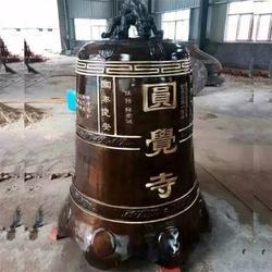 舟山纯铜铜钟设计-卫恒铜雕图片