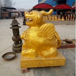 长春铸铁貔貅大型铸造厂-卫恒铜雕图片
