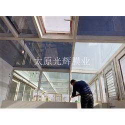 卫生间门玻璃贴膜,山西玻璃贴膜,太原光辉膜业(查看)图片
