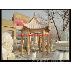 中式石雕亭子厂家-黑龙江中式石雕亭子-石雕亭子(多图)图片