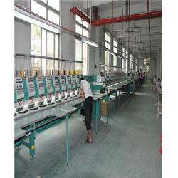 广州哪里有电脑绣花厂、昕宇服饰图片
