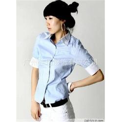 越秀衬衫定做厂家|佳增服饰|短袖衬衫定做厂家图片
