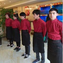 酒店厨师服围裙定做、济南厨师服围裙定做、佳增服饰(查看)图片