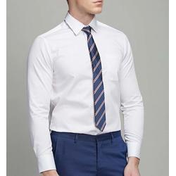 全棉纯色衬衫定做-阳江衬衫定做-款式多样颜色可选图片