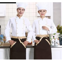 西式厨师服定做-经久耐磨不起球-四会厨师服定做图片