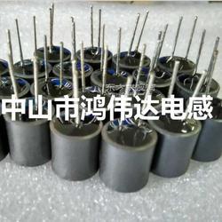 10UH电感,10UH屏蔽电感,10UH屏蔽插件电感,带磁罩屏蔽工字电感图片