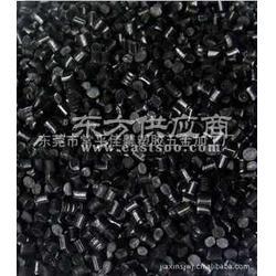 环保黑色ABS再生料 ABS再生料黑色环保料图片