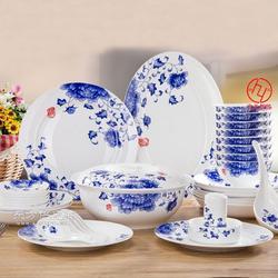 定制青花陶瓷餐具厂家图片