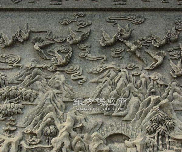 砂岩浮雕壁画-青岛砂岩浮雕壁画-济南京文雕塑金牌厂家图片