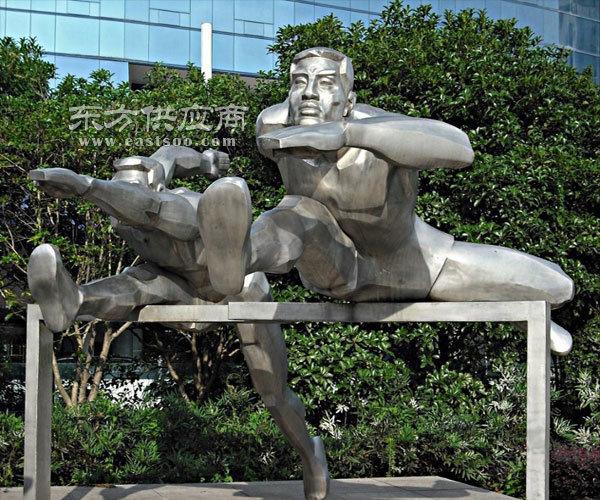 写实不锈钢雕塑厂家-新疆写实不锈钢雕塑-济南京文雕塑诚信可靠图片
