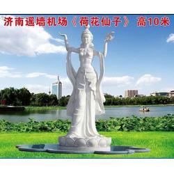 赣州不锈钢雕塑定做-济南京文雕塑金牌厂家图片