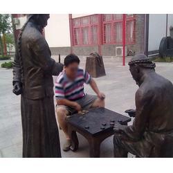 安陽鑄銅雕塑-濟南京文雕塑質量保證-鑄銅雕塑工藝圖片