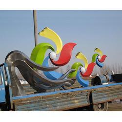 人物不锈钢雕塑-德阳人物不锈钢雕塑-济南京文雕塑值得信赖图片