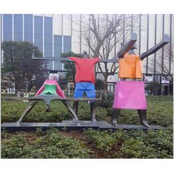 巴音郭楞彩色不锈钢雕塑 济南京文雕塑诚信可靠