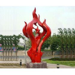 内蒙古不锈钢雕塑定做-济南京文雕塑值得信赖图片