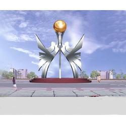 杭州不锈钢校园雕塑-济南京文雕塑图片