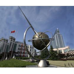 小區不銹鋼雕塑廠家-上饒小區不銹鋼雕塑-濟南京文雕塑誠信可靠圖片