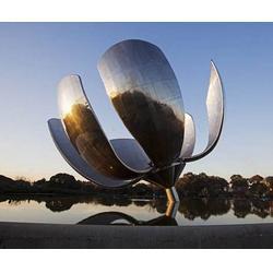 酒店不锈钢雕塑制作-济南京文雕塑-商丘不锈钢雕塑制作图片