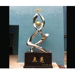 岳阳镂空不锈钢雕塑_济南京文雕塑值得信赖图片