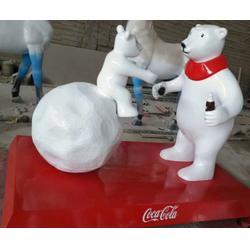 宜昌卡通玻璃钢雕塑-济南京文雕塑金牌厂家-卡通玻璃钢雕塑定制图片