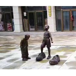 专业制作铸铜雕塑-咸阳铸铜雕塑-济南京文雕塑实力商家图片