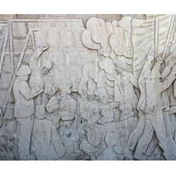 辽宁山水浮雕-山水浮雕多少钱-济南京文雕塑图片