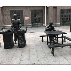 景德镇铸铜雕塑-济南京文雕塑质量保证-城市景观铸铜雕塑图片