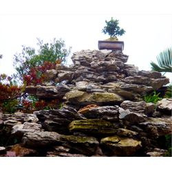 信阳金属假山雕塑-济南京文雕塑值得信赖(在线咨询)图片