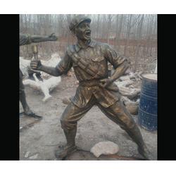 保亭玻璃钢雕塑厂家-济南京文雕塑金牌厂家图片