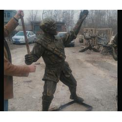 人物玻璃钢雕塑多少钱-济南京文雕塑质量保证图片
