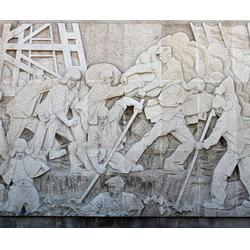 风景浮雕-淮南浮雕-济南京文雕塑诚信可靠图片