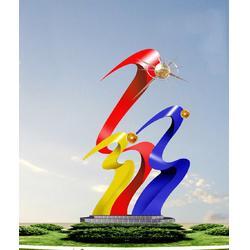 定安不锈钢雕塑制作-济南京文雕塑诚信可靠图片