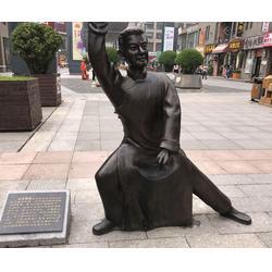 铸铜雕塑哪家好-六盘水铸铜雕塑-济南京文雕塑值得信赖图片