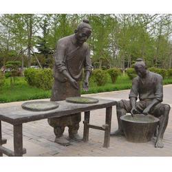 铸铜雕塑工艺-威海铸铜雕塑-济南京文雕塑实力商家图片