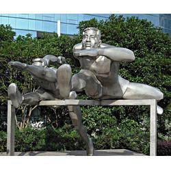 大型不锈钢雕塑定制-焦作不锈钢雕塑定制-济南京文雕塑实力商家图片