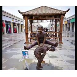 蚌埠铸铜雕塑-济南京文雕塑质量保证-城市景观铸铜雕塑图片