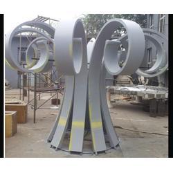 巴彦淖尔不锈钢雕塑厂家-济南京文雕塑图片